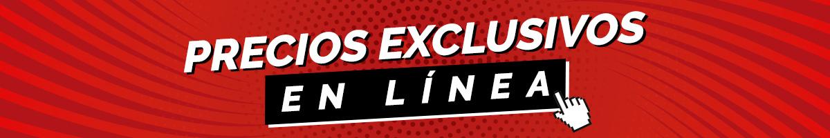 Banner precios exclusivos en línea